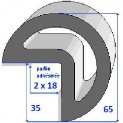 Profils adhésivé BC35