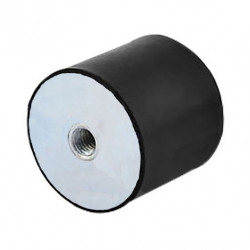 Support ou butée cylindrique fixation 2 taraudages
