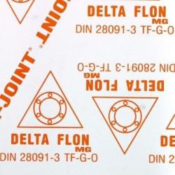 Delta flon MG PTFE modifiée, chargée fibres spéciale