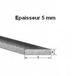 Bande caoutchouc EPDM spongieux 5 mm