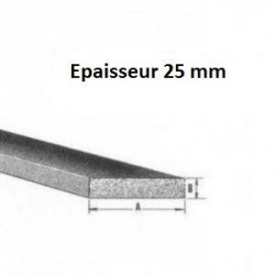 Bande caoutchouc EPDM spongieux 25 mm