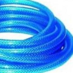 Tuyau Cristal PVC bleu  armé usage polyvalent