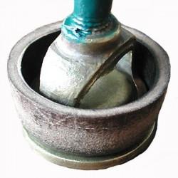Joint cuir pour pompe à eau, à bras (calotte)