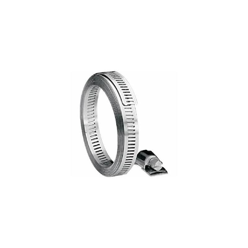 Serflex Bande sans fin acier galvanisé + têtes