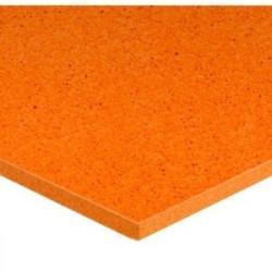 Plaque éponge orange moyenne cellules